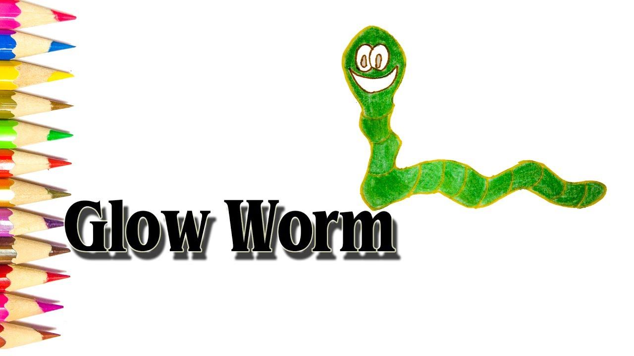 1280x720 How To Draw Glow Worm