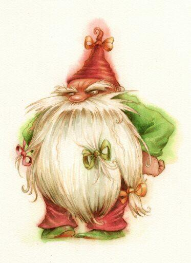 373x512 Bah, Humbug. What A Great Drawing. To Gnome Me Is To Love Me