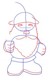 193x302 How To Draw A Gnome Step 2 Founding Fathers Gnomes