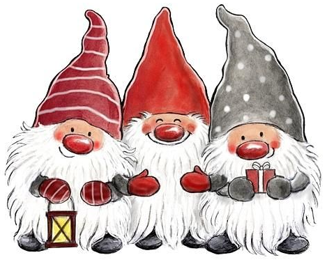 469x376 Little Helpers X Stitch Gnomes, Xmas And Craft