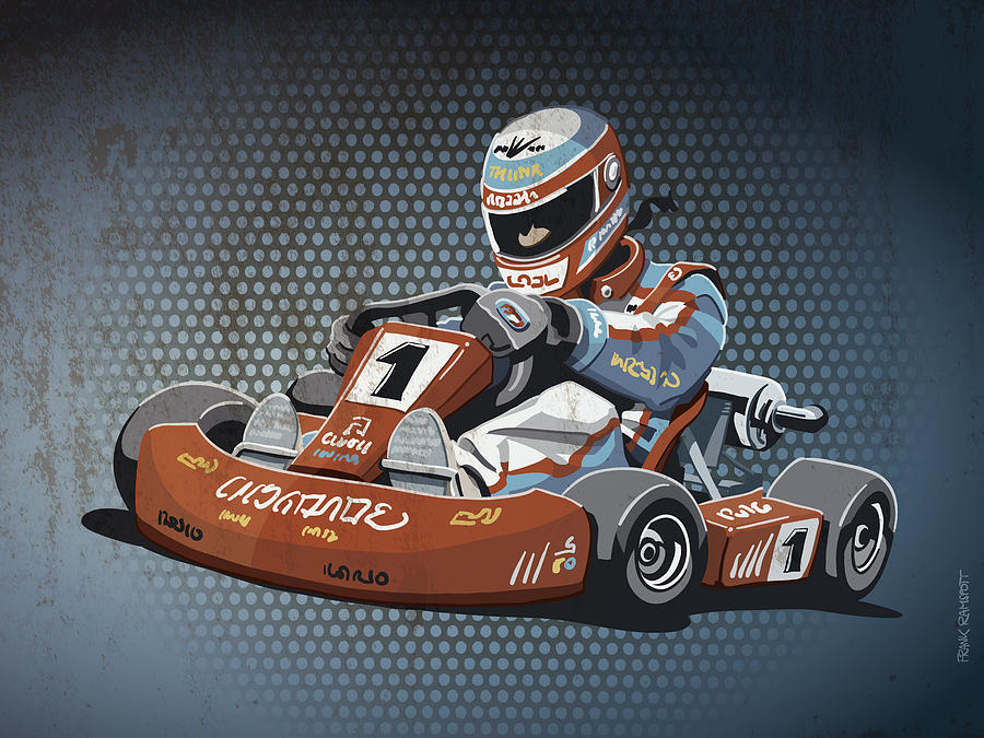 Go Kart Drawing at GetDrawings.com | Free for personal use Go Kart ...