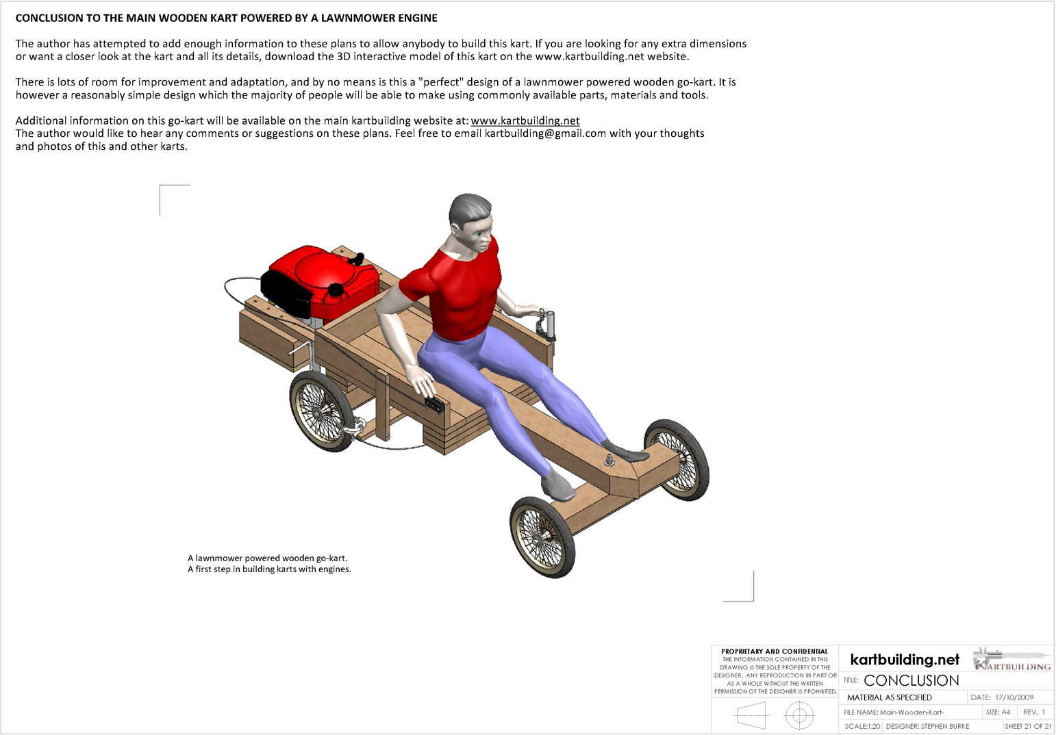 1542x1074 Lawnmower Powered Wooden Go Kart Conclusion To The Set Of Plans