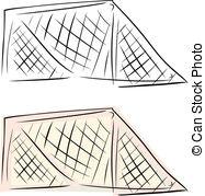 187x179 Football Net (Soccer Goal Net) Football Net Vector Illustration