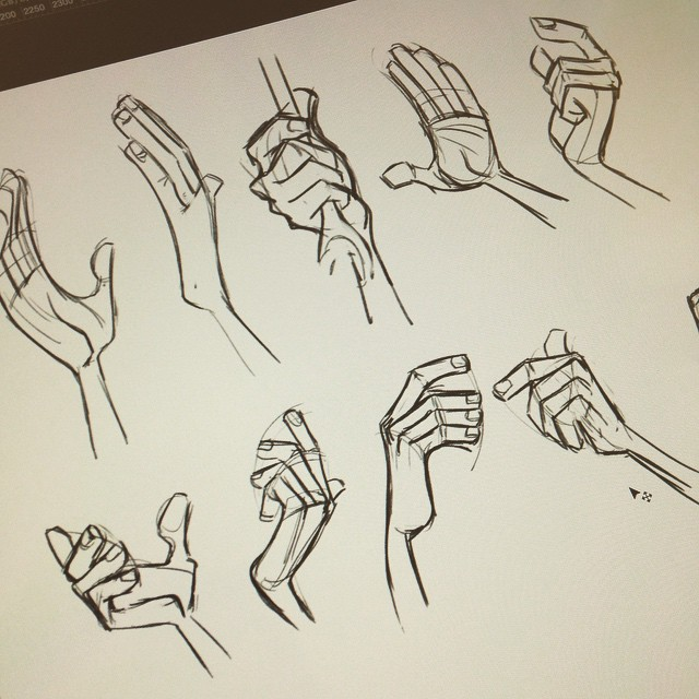 640x640 New Goal Start The Day Off With Ten Hand Studies. Looking