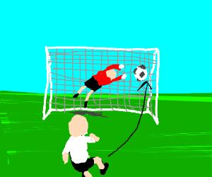 300x250 Soccer Goal