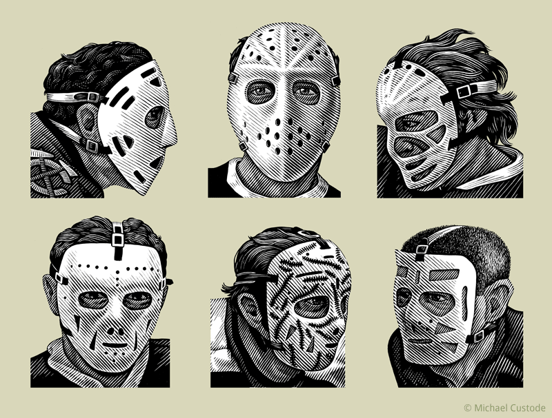 Goalie Mask Drawing At Getdrawings Com Free For Personal Use