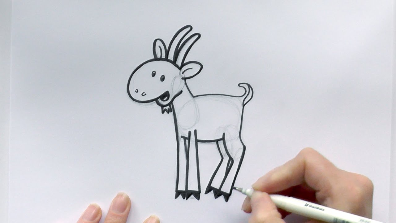 Goat Cartoon Drawing At Getdrawings Com Free For Personal Use Goat