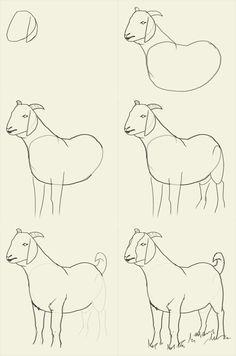236x356 Goat Clip Art
