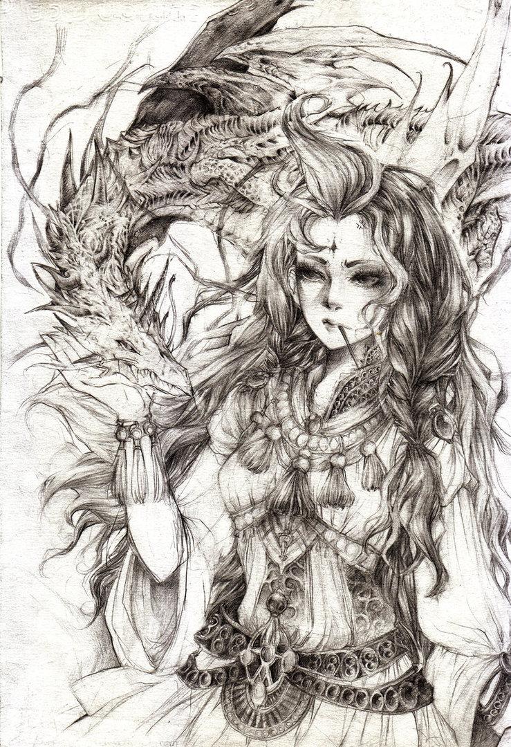 739x1080 Hestia Goddess Of The Hearth By Flycatcher263