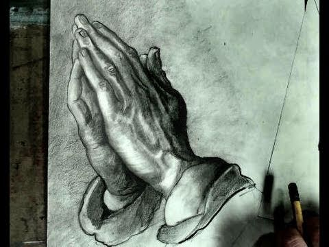 480x360 How To Draw Praying Hands Step By Step (Albrecht Durer)
