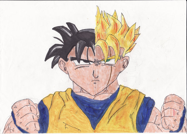 Gohan Drawing At Getdrawingscom Free For Personal Use Gohan