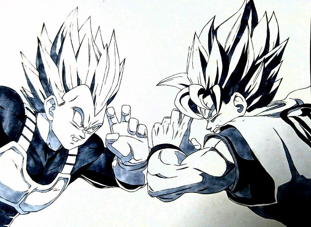 1024x747 Dragon Ball Super Drawing