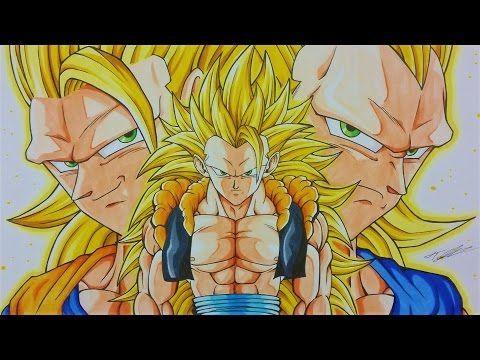 480x360 Drawing Gogeta Ssj3 Goku Amp Vegeta Fusion Dragonball Z