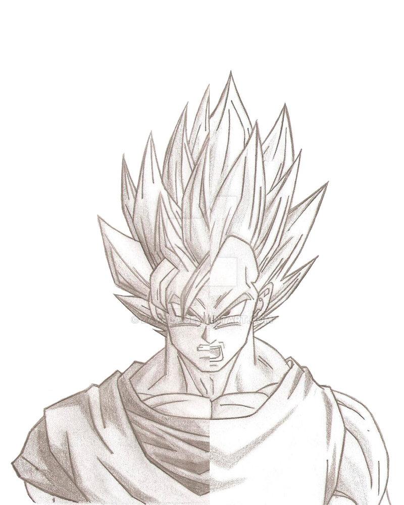 800x1000 Goku O Vegeta By Z4vala