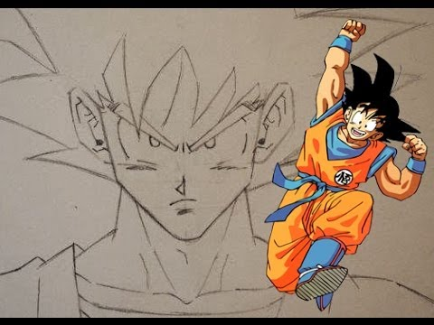 480x360 How To Draw Goku Step By Step!