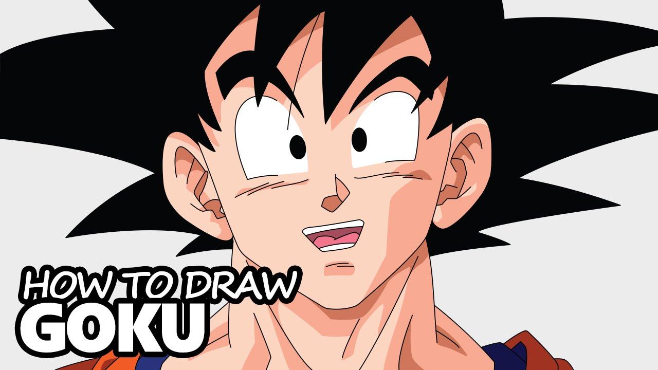 1280x720 How To Draw Goku From Dragon Ball Z