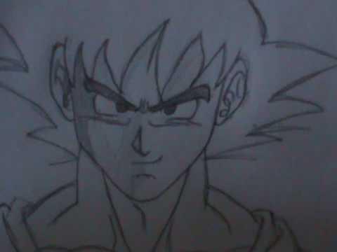 480x360 How To Draw Goku Step By Step