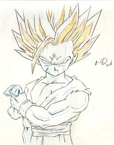 236x299 Goku Drawings Pencil Pic 23 Drawing And Coloring For Kids