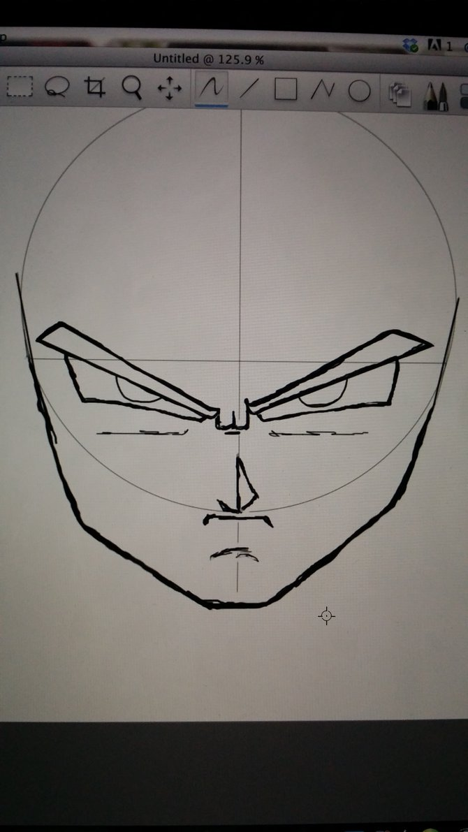 670x1191 How To Draw Goku's Face! (My Way) By Creativedaki