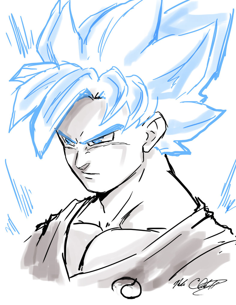 786x1017 Super Saiyan God Goku Plus Video By Mark Clark Ii