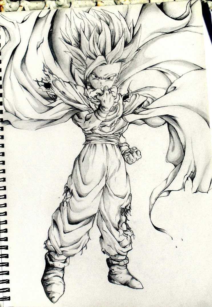 743x1076 Dragon Ball Z All Characters Cartoons Photos Sketch Drawing Photos