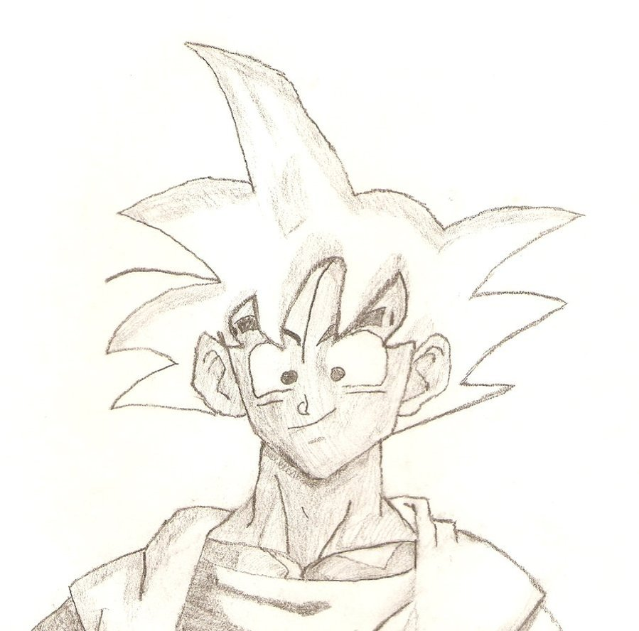 899x888 Goku Sketch 2 By Niggyd