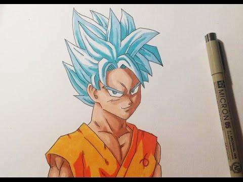 480x360 Drawing Goku Ssgss