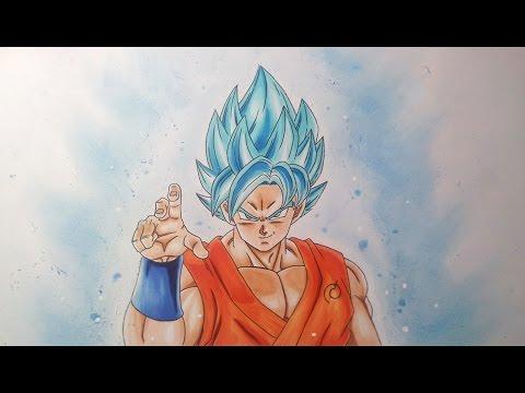 480x360 Drawing Goku Super Saiyan Blue Super Saiyan God Super Saiyan
