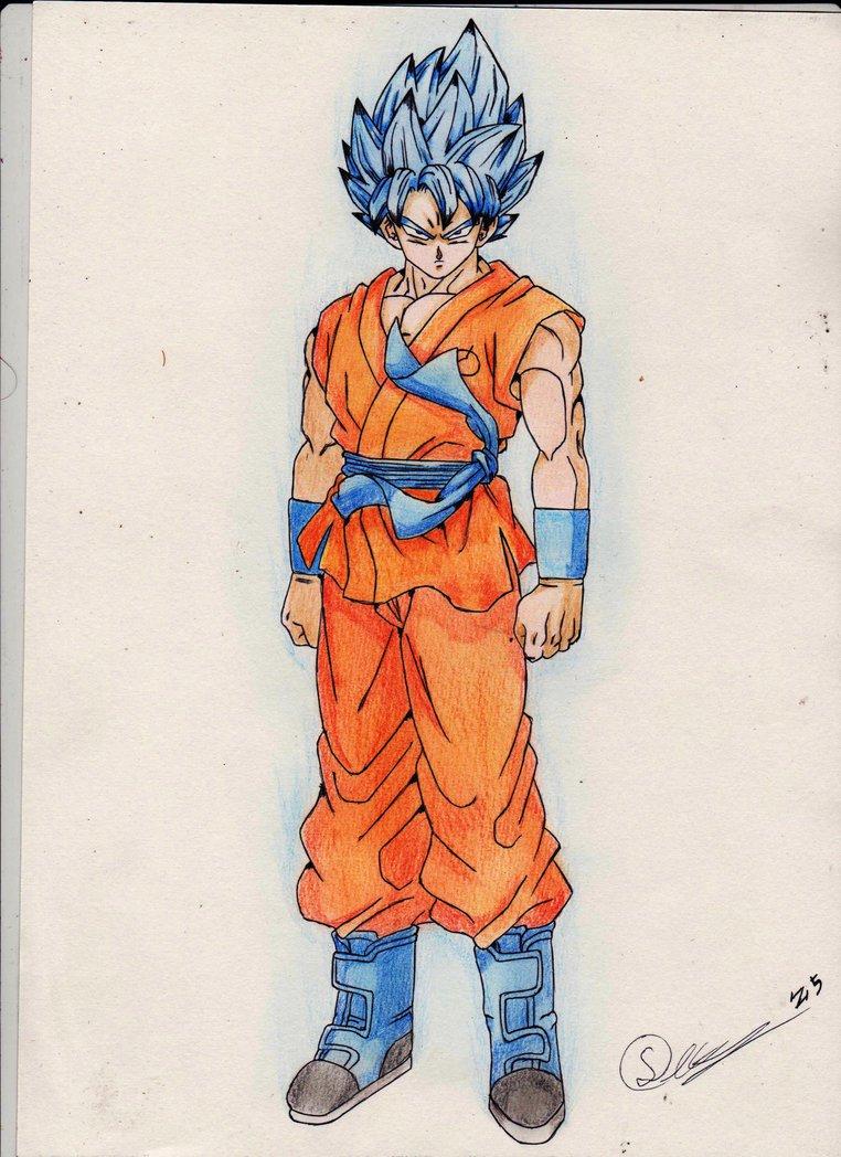 762x1048 Goku Ssgss By Zangetsu552