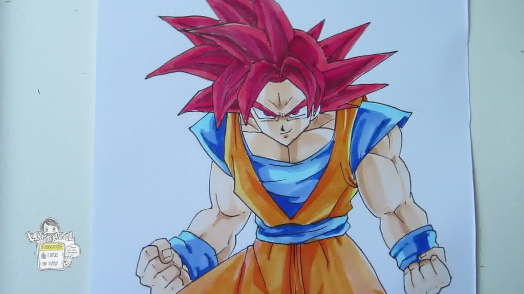 Goku Super Saiyan Drawing At Getdrawings Com Free For
