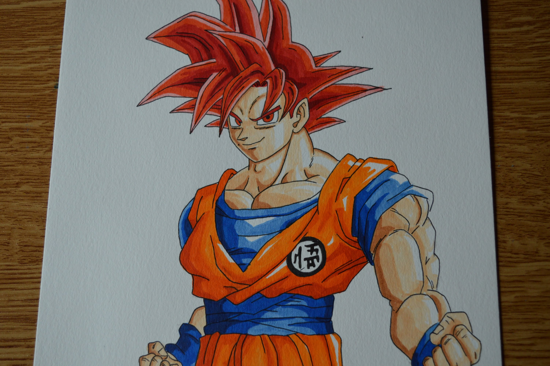 Goku Super Saiyan Drawing At Getdrawings Free Download