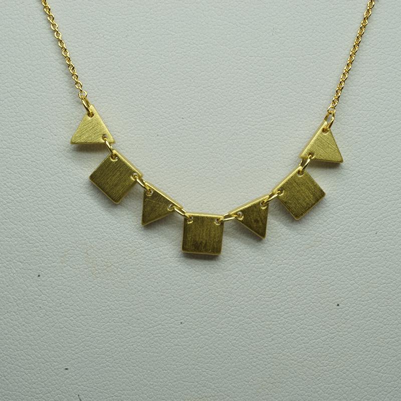 800x800 Chictopia Geometric Tirangle Square Copper Plated Gold Color Wire