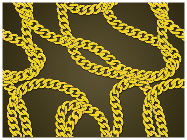 600x451 Create A Gold Chain Pattern Brush With Illustrator