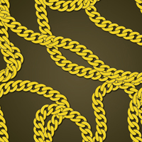 200x200 Create A Gold Chain Pattern Brush With Illustrator Tut Web, Ai