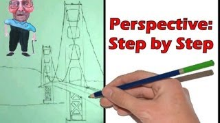 320x180 Perspective Step By Step How To Draw A Bridge
