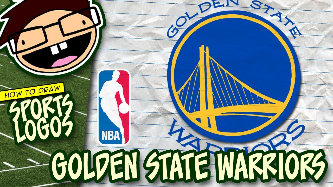 1280x720 How To Draw The Golden State Warriors Logo (Nba) Narrated Easy