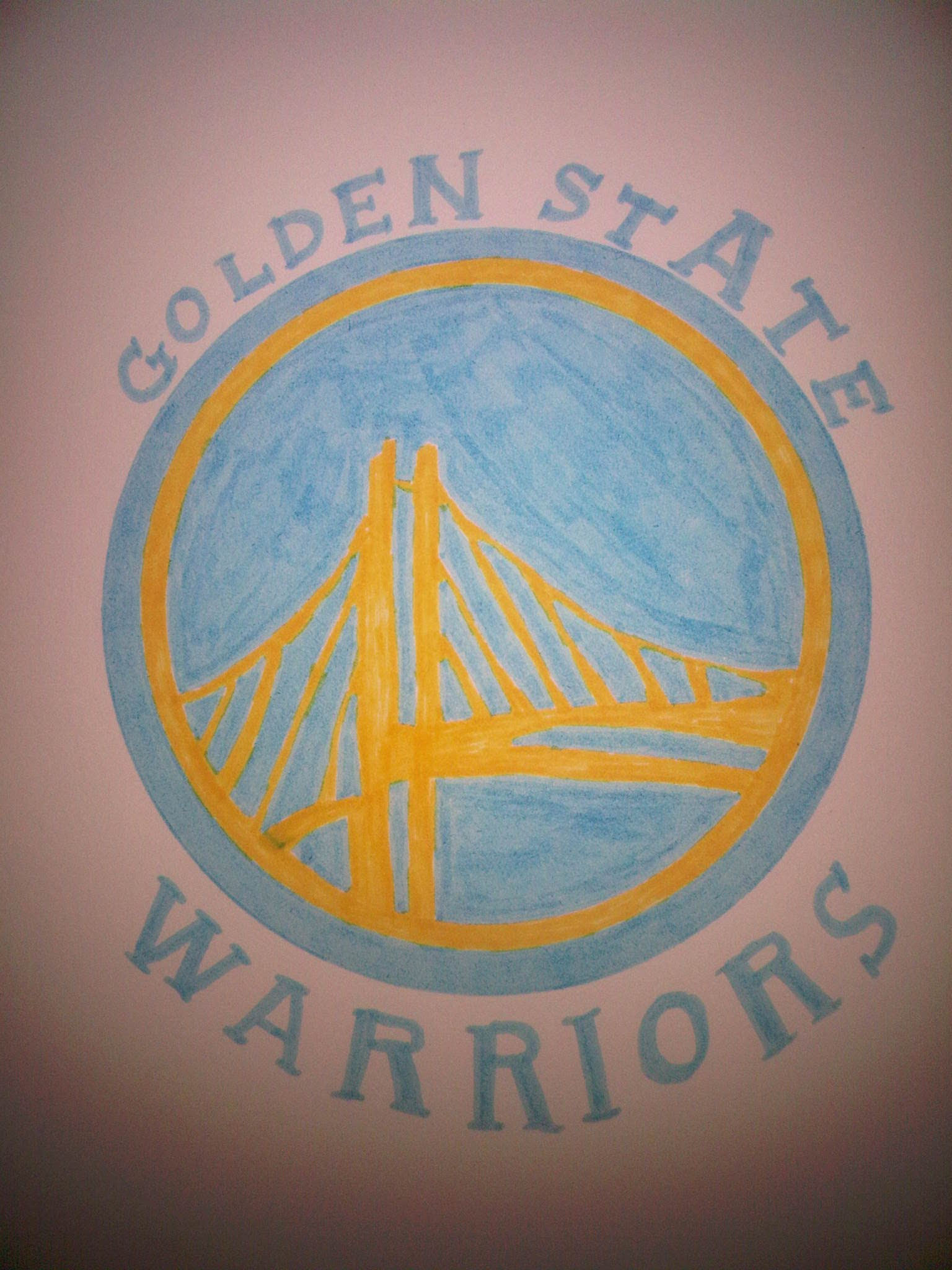 1536x2048 How To Draw The Golden State Warriors Logo