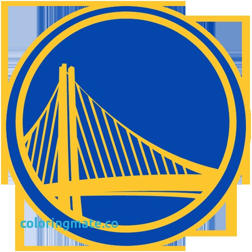 500x500 Golden State Warriors Coloring Pages Luxury Nba Logos Coloring