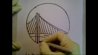320x180 How To Draw Golden State Warriors Logo Symbol Emblem Easily