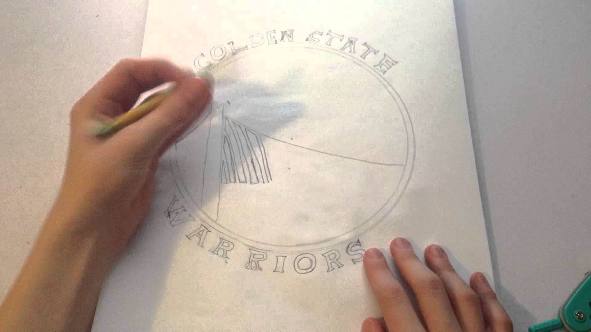1920x1080 How To Draw The Golden State Warriors Logo