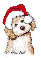 141x200 Stunning Goldendoodle Drawings And Illustrations For Sale