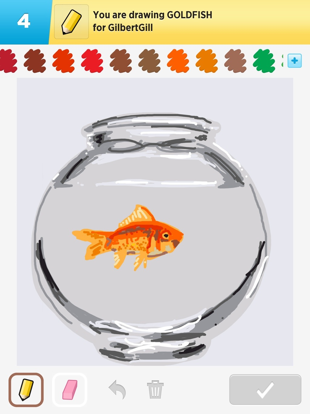1024x1366 Goldfish Some Things I'Ve Drawn