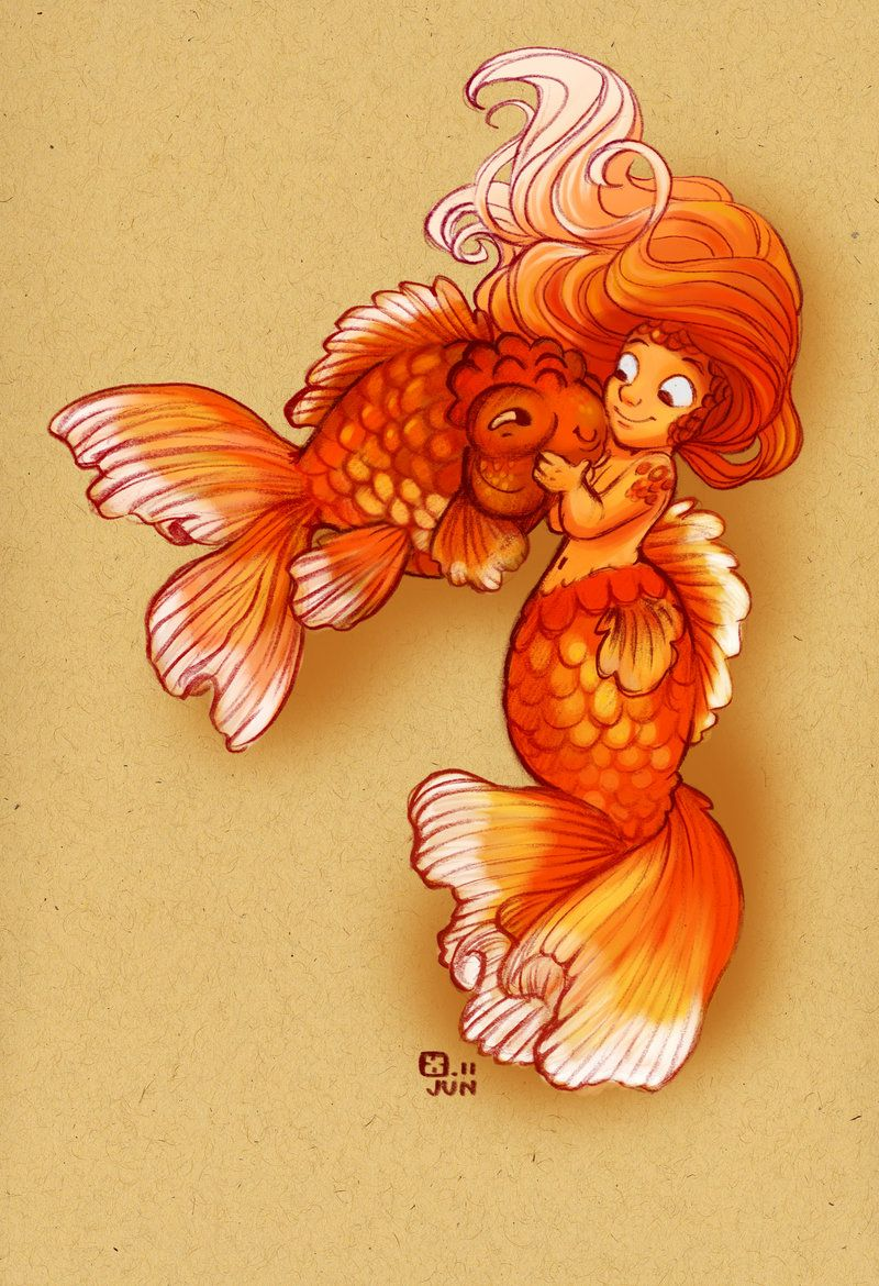 Goldfish Drawing at GetDrawings.com | Free for personal use Goldfish ...