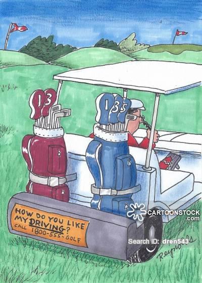 400x560 Golf Cart Cartoons And Comics