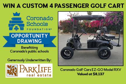 432x288 Golf Cart Opportunity Drawing Coronado Schools Foundation