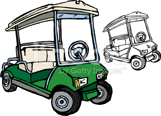 golf cart drawing at free for personal. Black Bedroom Furniture Sets. Home Design Ideas
