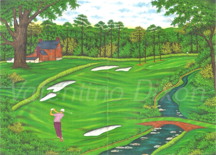 736x529 33 Best On The Golf Course Green Images On Art Work