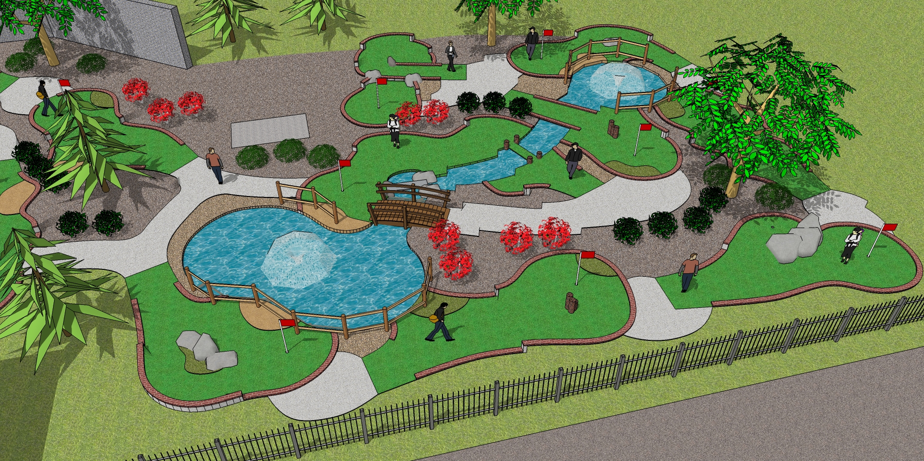 1900x948 A First In Ireland As Leading Us Company Designs Mini Golf Course