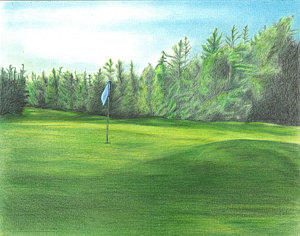 300x236 Golf Club Drawings