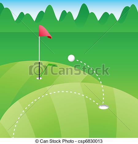 450x470 Golf Course